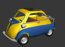 Q版小车,汽车,卡通汽车max模型