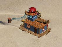 Q版房子,卡通房子,卡通场景max模型