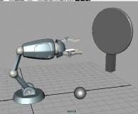 机械手臂,机械动画maya模型