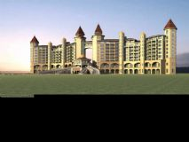 欧式酒店,庄园,欧式建筑,室外场景max模型