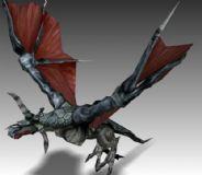 Dragon,龙,游戏角色max模型