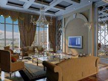 大厅,欧式客厅,室内场景max模型