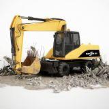 挖土机,机械,车辆max模型