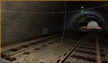 铁路隧道,现代场景cinema 4d模型