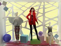 女服装店橱窗模型