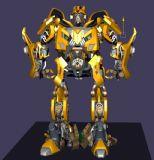 变形金刚,大黄蜂机器人maya模型