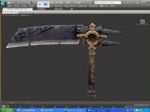 武器,刀max模型