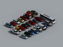 汽车3D模型合辑,简模 实用 大气