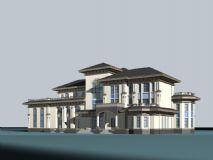 别墅,住宅max模型