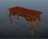 桌子,雕花桌