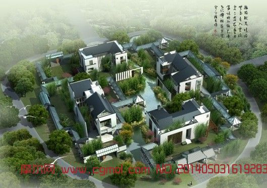 原创作品: 现代建筑景观