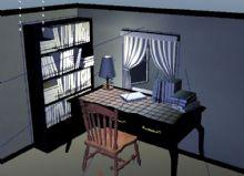 书桌 书写台