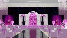 婚礼舞台背景