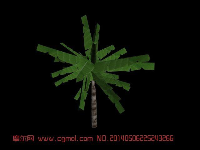 芭蕉树模型 树木模型 3dmax树木场景