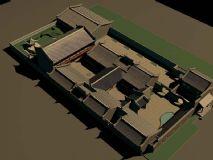 四合院的模型