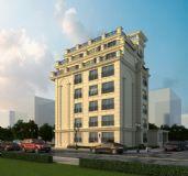 欧式办公楼模型