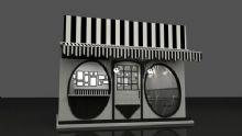 黑白熊猫商铺 奶茶饮料店