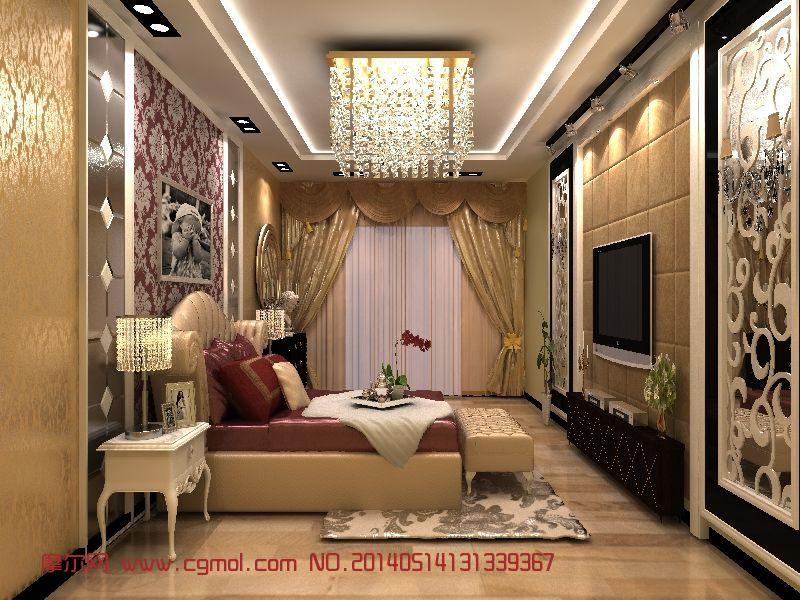 金之洋欧式卧室_家居装饰