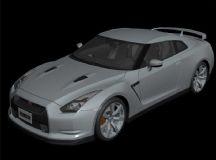 日产尼桑GTR超酷跑车