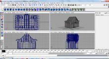 房子 maya游戏场景模型