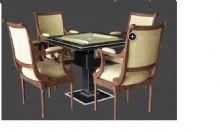 麻将桌 桌椅组合
