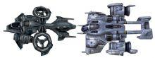 星际争霸-人类战机 女妖banshee战机