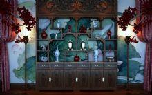 中式酒柜3D模型