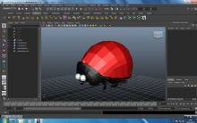 卡通瓢虫3D模型