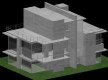 两层别墅3D模型
