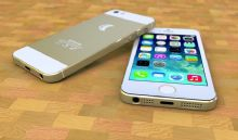 iPhone 5s土豪金3D模型