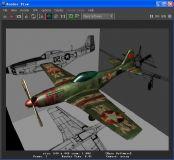 P-51野马轻型战斗机 二战飞机