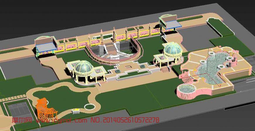 地块 沙盘设计模型
