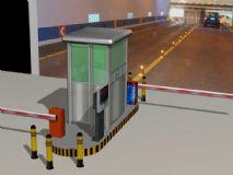 停车场出入口3d模型