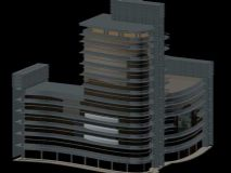现代建筑 大厦