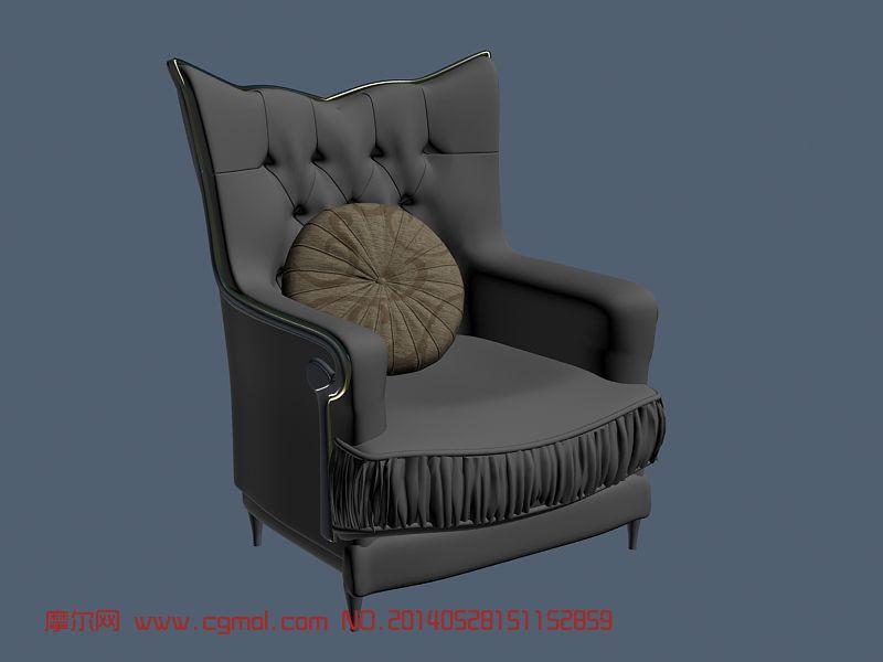欧式椅子 沙发椅_室内家具