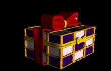 圣诞礼物盒3D模型