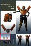 大将军 铠甲战士3D模型