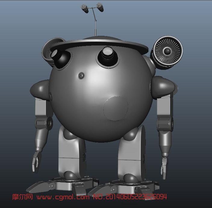 高科技科幻�C器人 maya作品