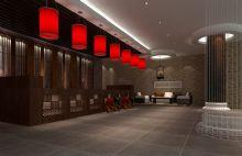 中式大堂 酒楼接待处