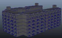 宿舍楼 现代建筑 学校