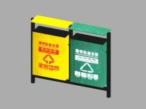 道路边常用垃圾桶