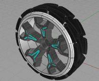 轮子 概念汽车轮毂