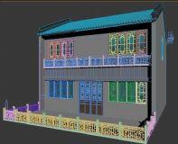 �X南�L格商�建筑 古街建筑
