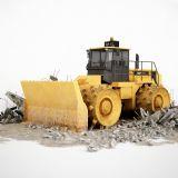 高质量推土机模型