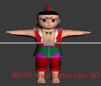 葫芦娃3dmax模型