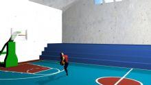 maya打篮球场景动画