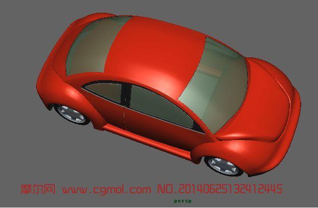 maya 2010 甲壳虫模型