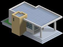 传达室 门卫建筑