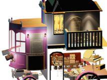 房车酒吧3D模型