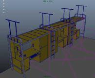 简单的宿舍模型